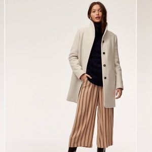 Aritzia Cocoon Wool Coat